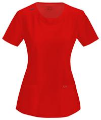 Top by Cherokee Uniforms, Style: 2624A-RED